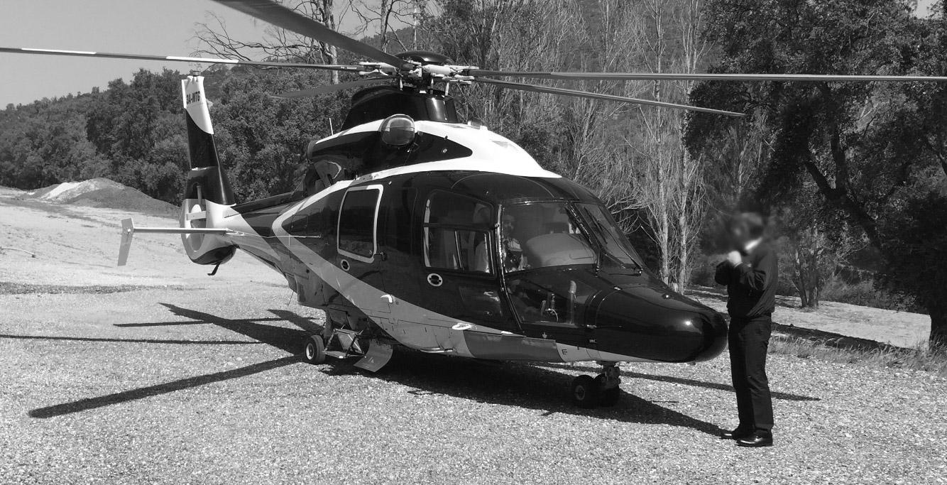 Hélisurface Hélistation Hélicoptère Drop Zone privée Var Bormes 83 PACA