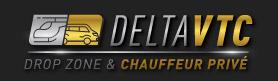 Delta VTC : Chauffeur & Drop Zone Logo